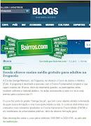 Escola Garriga de Menezes no Globo online. Postado por MercadoCom às 06:31