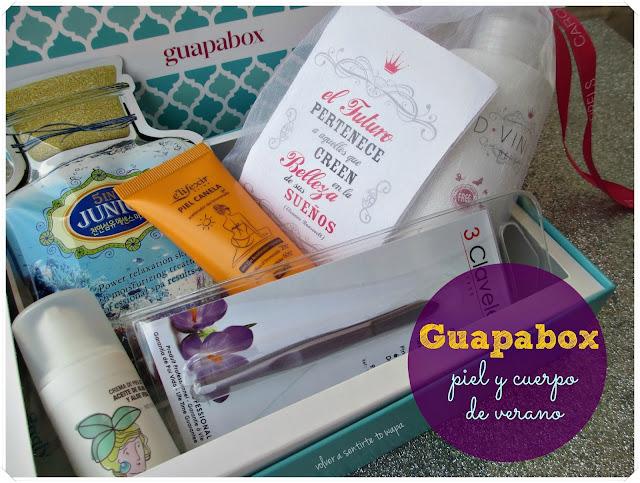 Guapabox prepara tu piel y cuerpo para el verano