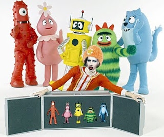 DJ Marilyn Manson and the Yo Gabba Gabba crew