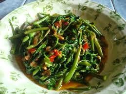 kangkung goreng
