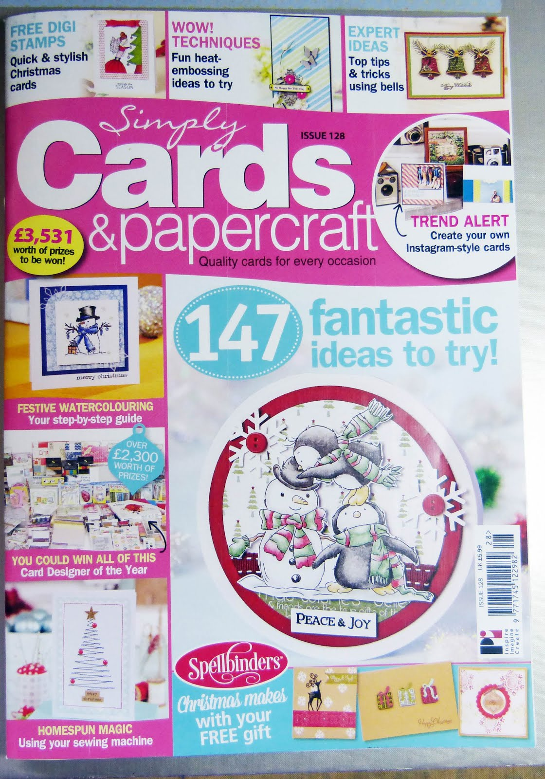 Published Simply Cards & Paper Crafts Issue 128