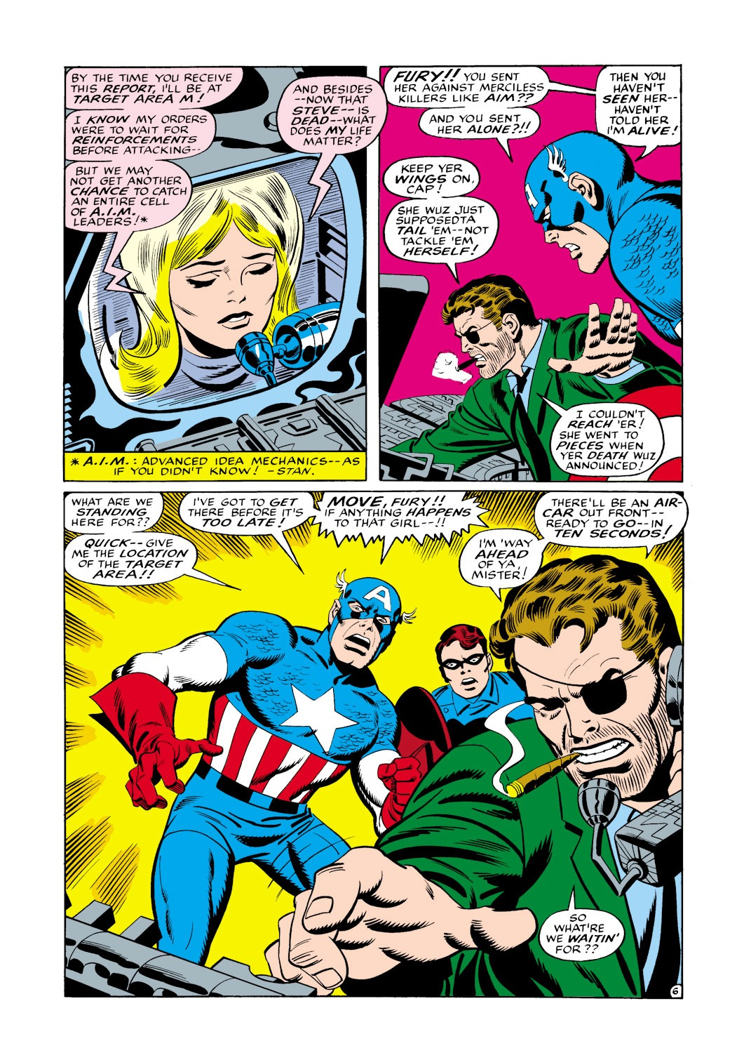 Captain America (1968) Issue #114 #28 - English 7