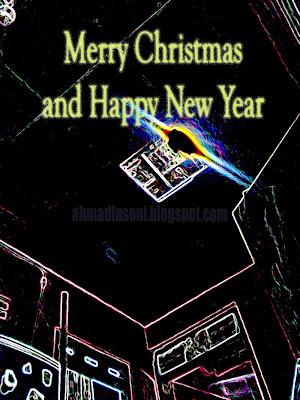 Merry Christmas and Happy New Year - Selamat Natal dan Tahun Baru - Waktunya Liburan dan Keluarga