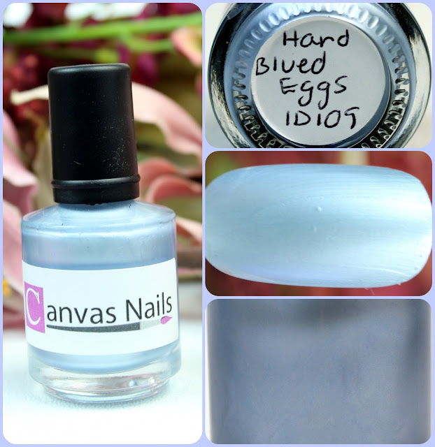 Canvas Nails Hard Blue Eggs Nail Polish