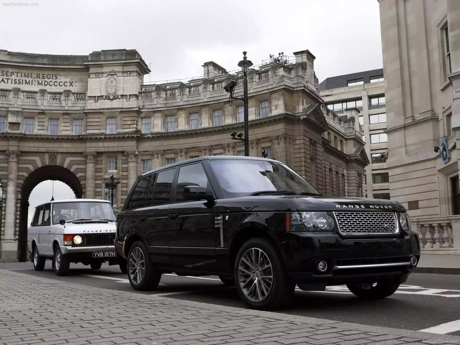 Hình ảnh xe ô tô Land Rover Range Rover Autobiography Black 2011 & nội ngoại thất