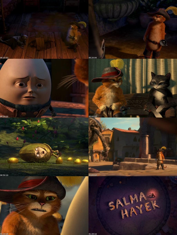 Gato con Botas (2011) [DVDScreener] [Latino]