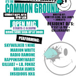 Live @ Common Ground 9/16
