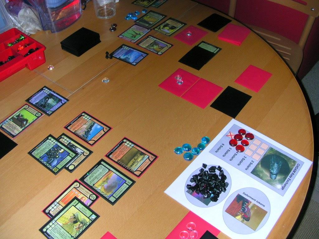 Dune juego cartas CCG
