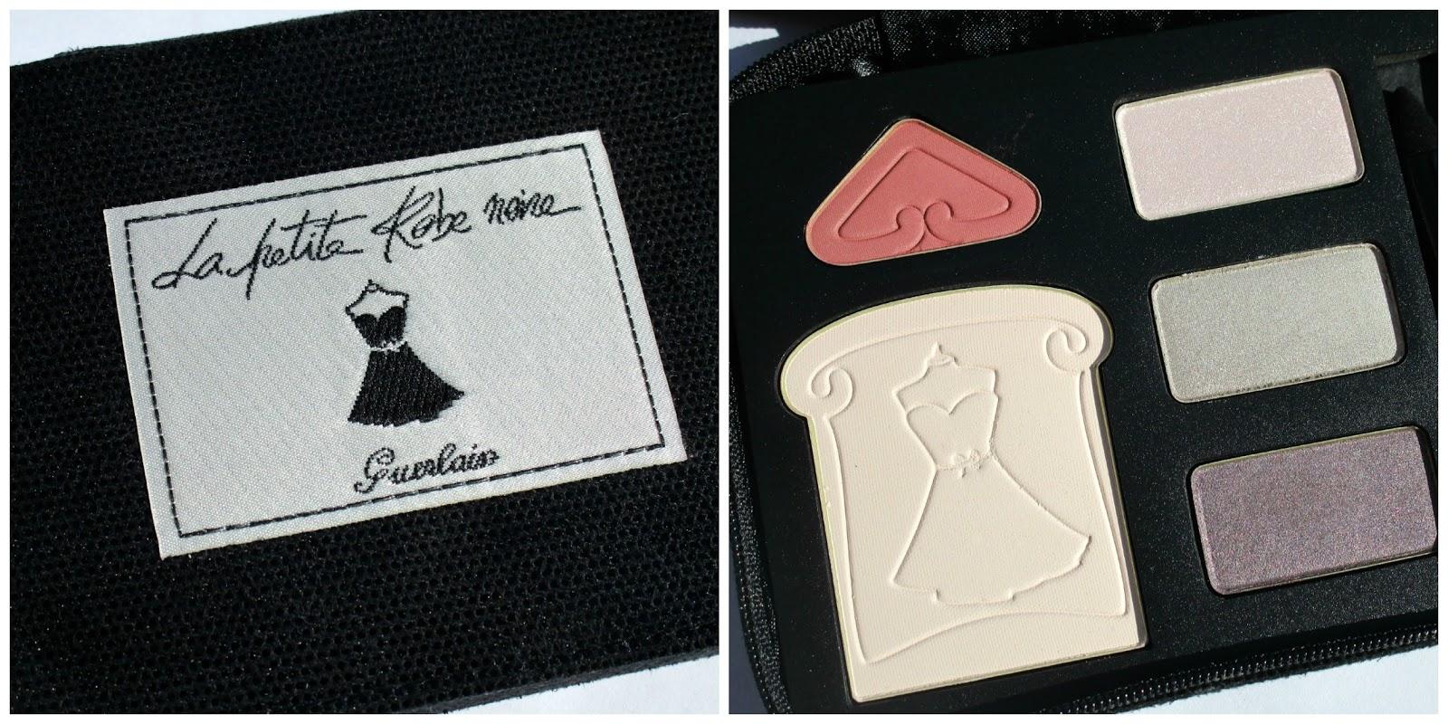 Guerlain la petite robe noire palette review