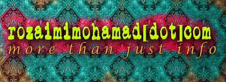 ::  Rozaimi Mohamad [dot] com   ::