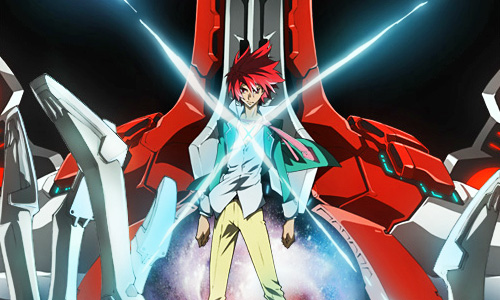 2 that BONES' on-going mecha series, Star Driver: Kagayaki no Takuto is now