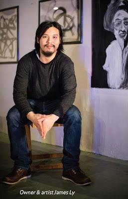 James Ly, Minut Init Art Studio owner