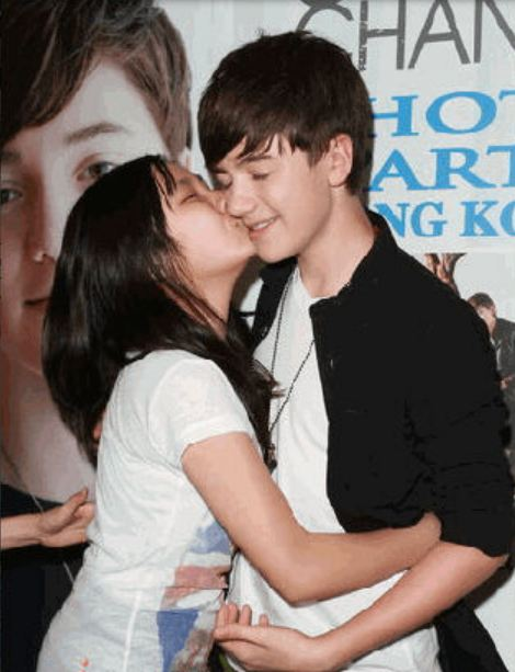 Did greyson chance dating ariana grande
