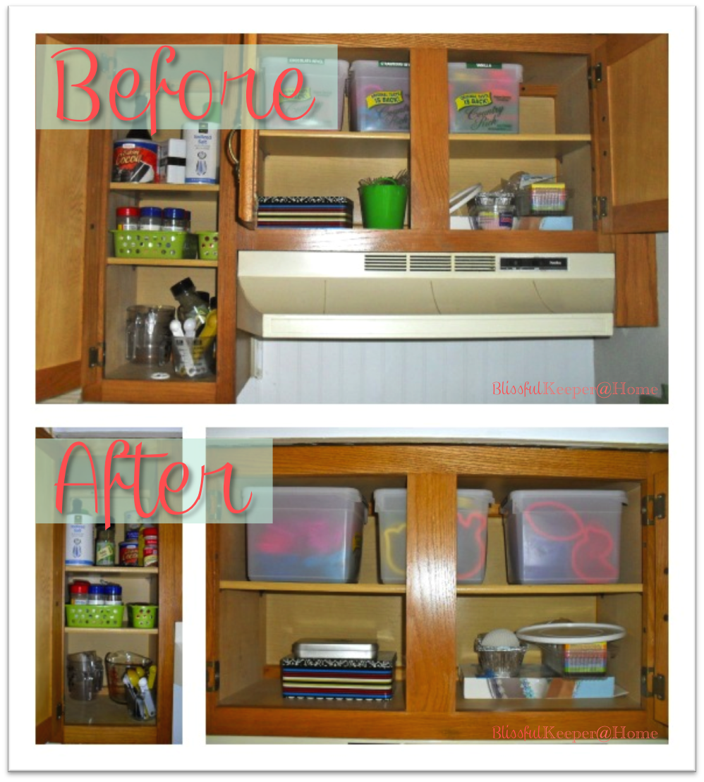 Manypics pictures how to re organize your kitchen cabinets Organizing kitchen cabinets