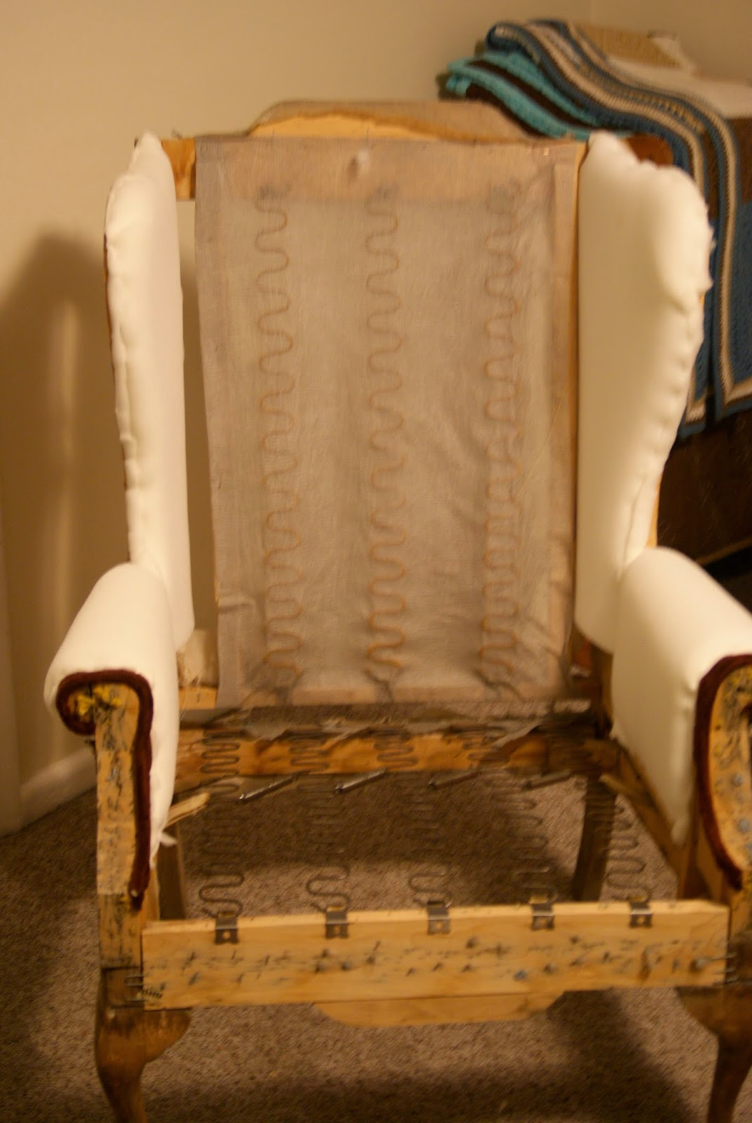 Simply Tailor Made How To Upholster A Wingback Chair