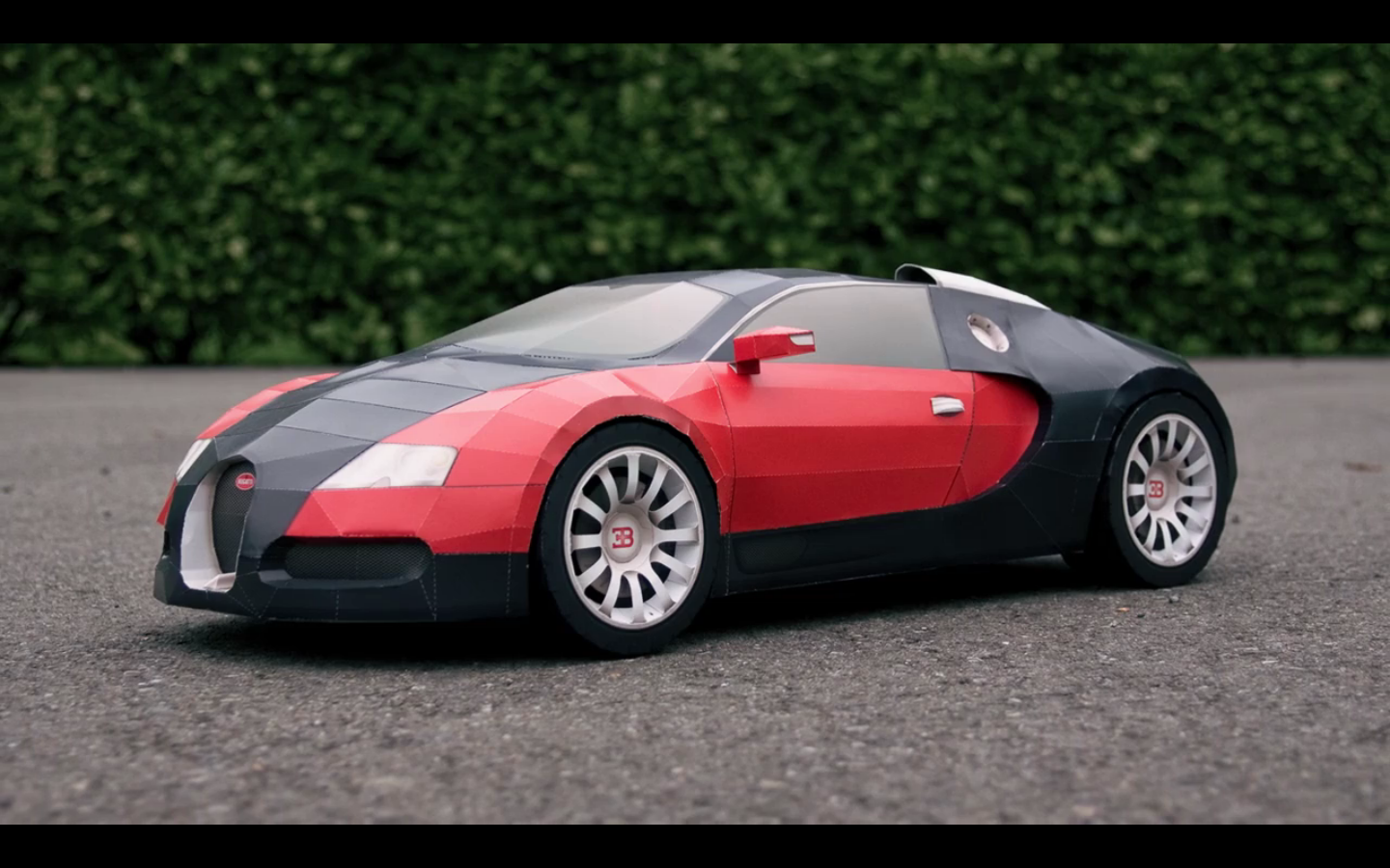 Dope Bugatti Veyron Made Of Paper Infamous Boutique