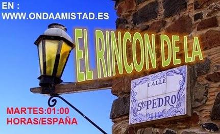 """PROGRAMA:""""EL RINCON EN LA CALLE DE SAN PEDRO"""""""