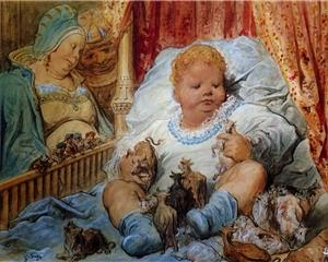 Waarom Gentle Giant bandnaam - The childhood?Pantagruel - Gustave Dore
