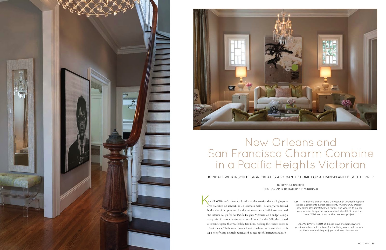 Pacific Heights Charm California Homes Magazine October 2012
