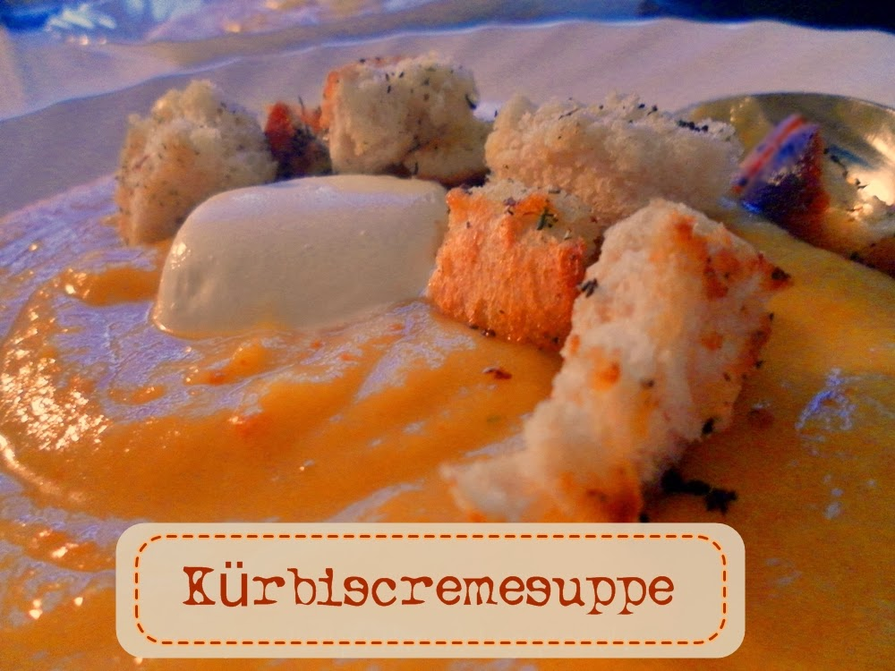 Kürbiscremesuppe - funkelperlen.blogspot.de