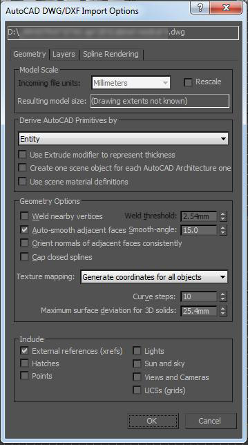 how to change 3ds max default save folder