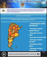 SALARIOS DOCENTES