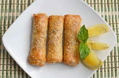 Chopped Chicken Rolls - Chả Giò Gà Cuốn