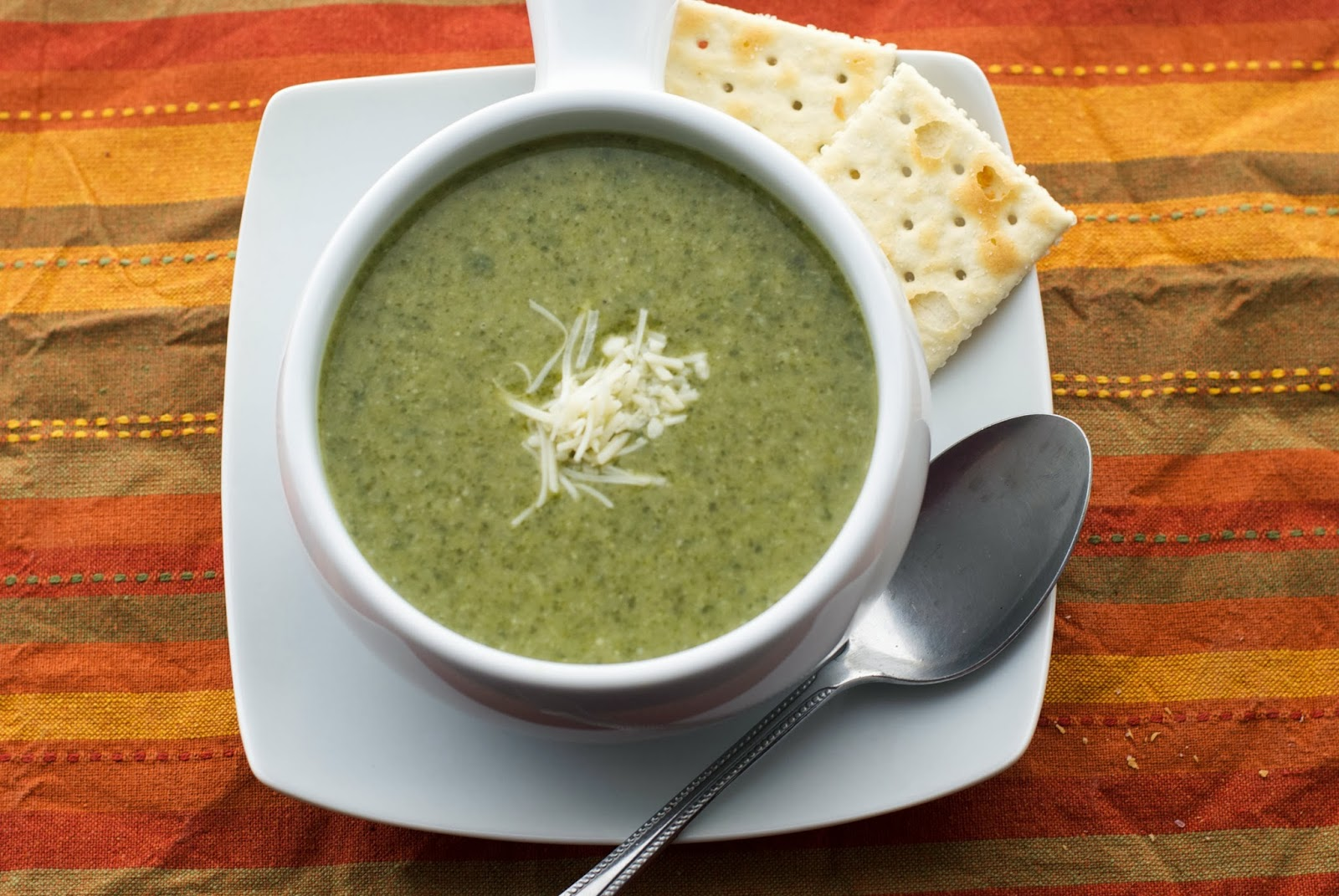Cream of Spinach & Artichoke Soup - Carrie's Experimental Kitchen