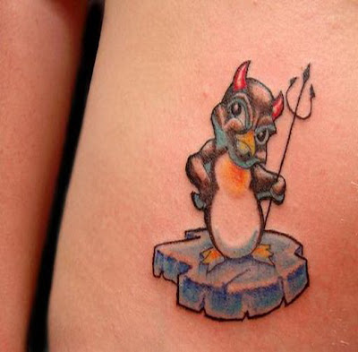Lovely Pinguin Tattoo Meaning