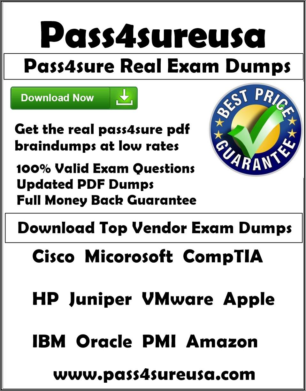 Pass4sure 70-417 Dumps