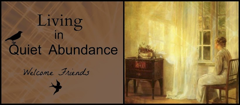 Living in Quiet Abundance