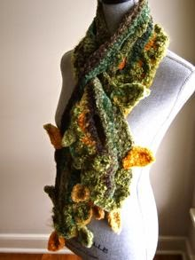 woodland fairy scarf
