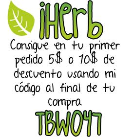 Código de descuento en iHerb