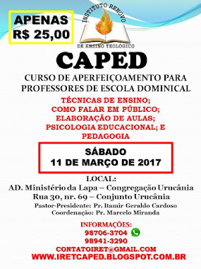 CARTAZ CAPED 11MAR2017
