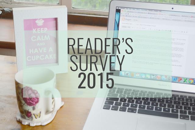 Blogger reader survey results