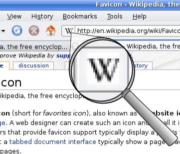 Wikipedia Favicon