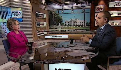 chuck todd meet the press interview hillary clinton
