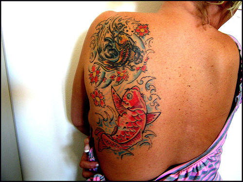 Koi Fish Tattoos   Koi Fish Art Ideas