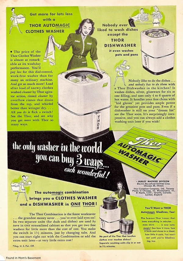 El lavavajillas que también limpia la ropa