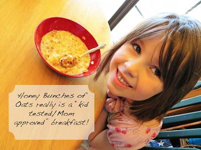 Breakfast Cereal Honey Bunches of Oats