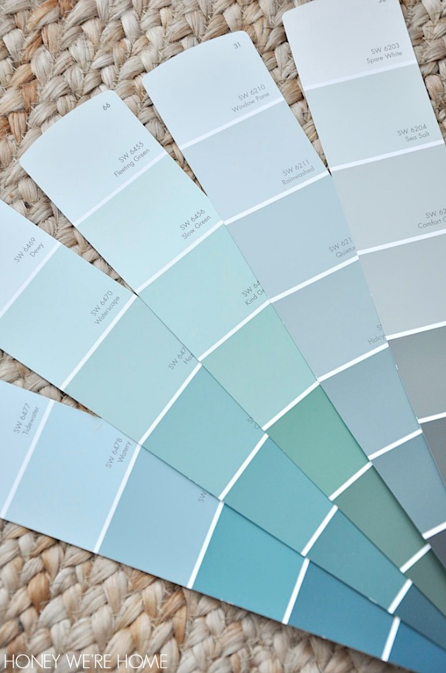 Honey we 39 re home choosing paint for the dining room for Www sherwin williams paint com colors