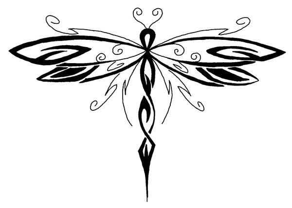 Images of art deco tattoo lawas - Dragonfly Tattoo Tattoo Lawas
