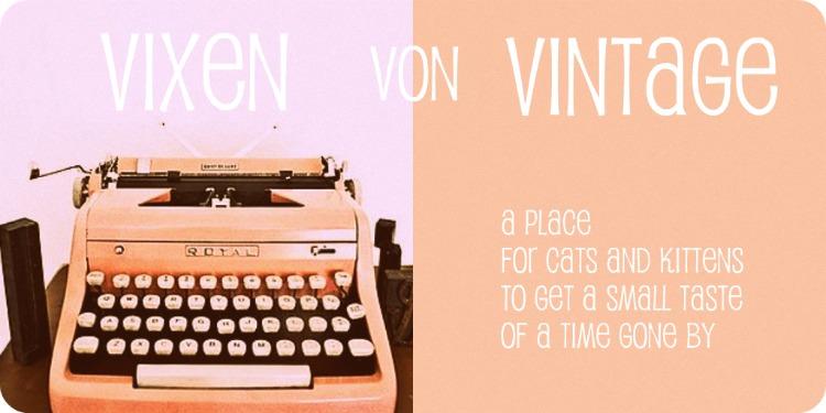 Vixen Von Vintage