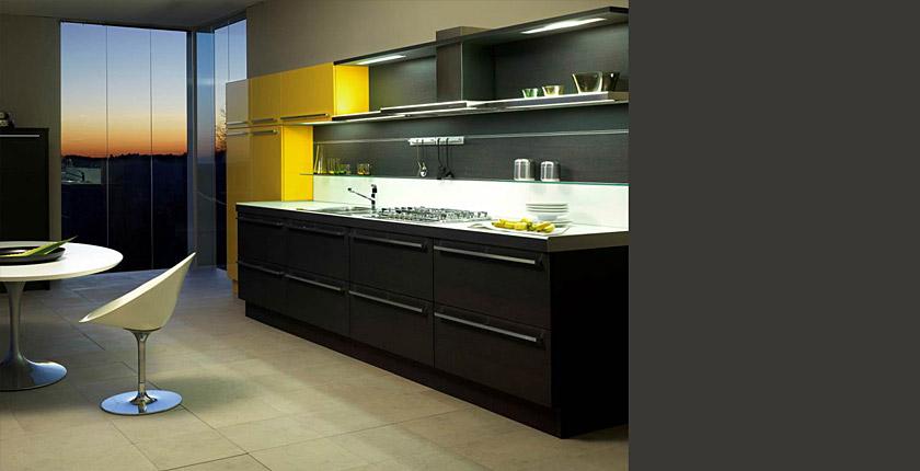 Dise o de cocinas en laca - Cocinas espectaculares ...