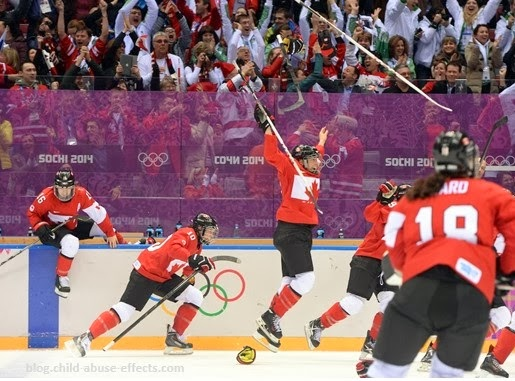 Never Ever Give Up - Canadian Women's Team Wins Gold