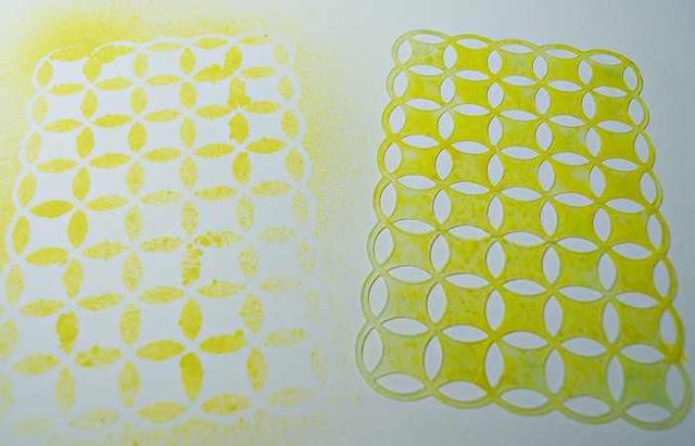 Material der Woche | www.danipeuss.de | Masks Schablonen Tutorial