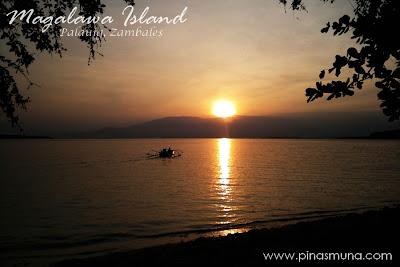 Sunrise at Magalawa Island in Palauig Zambales