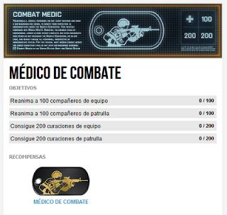 Misión Premium 3: Médico de Combate