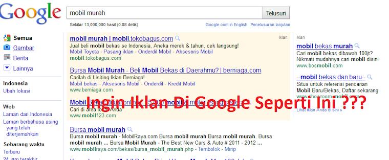 Iklan Murah Google