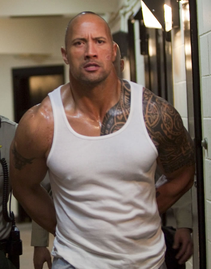 The Rock Tattoos - WWE Superstar Dwayne Johnson Tattoo Pictures ...